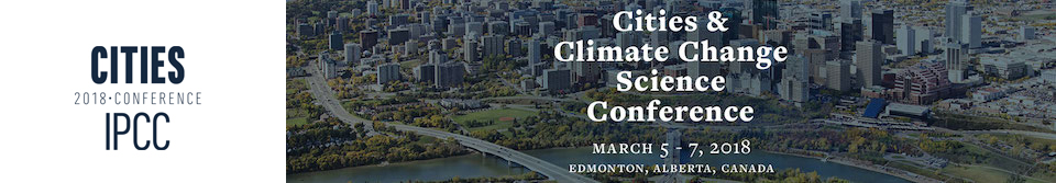Cities and Climate Change Science Conference
